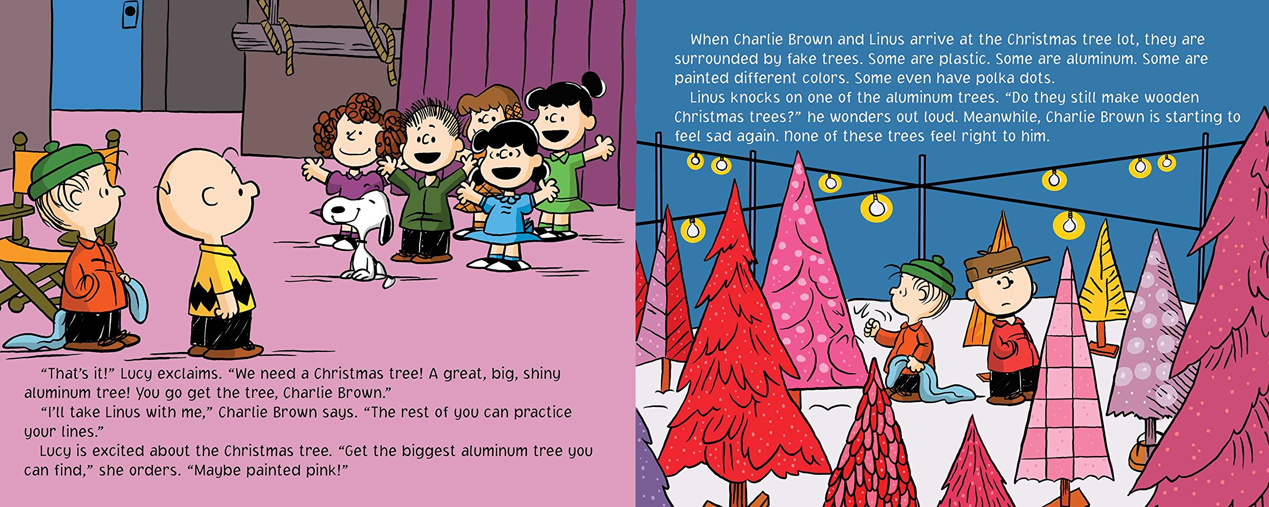 a charlie brown christmas peanuts tina gallo charles m schulz scott jeralds 9781481444323 amazoncom books