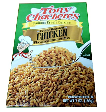 Amazon.com : Tony Chacheres Creole Roasted Chicken Rice Mix, 7 Ounce - 12 per case. : Dried Grains And Rice : Grocery & Gourmet Food