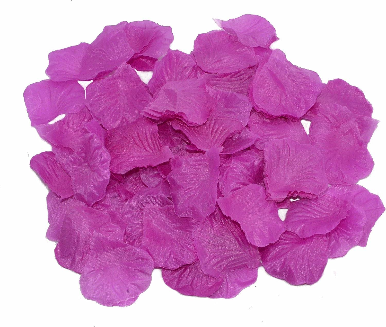 flower girl petals for wedding aisle runners Silk Rose Petals Fake Rose Petals Concord Grape Purple Rose Petals wedding decorations