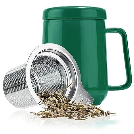 Tealyra – Infusor de té de cerámica de pico – 19.6 fl oz ...