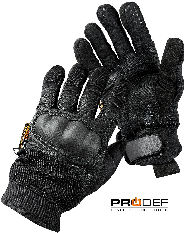 PRODEF ® Security-Handschuhe mit Knöchelprotektoren und Hohem Schnittschutz Level-5