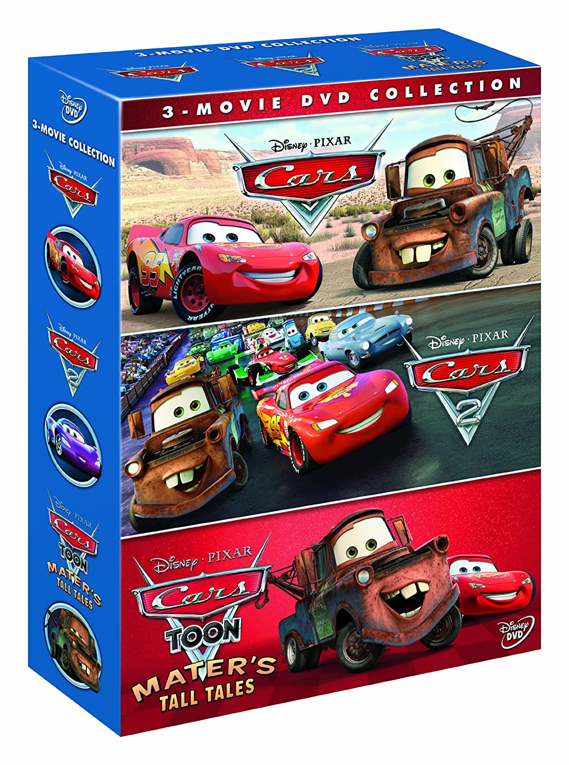 Cars cars 2 cars toon mater 39 s tall tales box set dvd for 2 box auto profondo