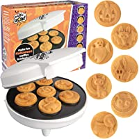 Halloween 7 Different Spooky Designs Mini Waffle Maker