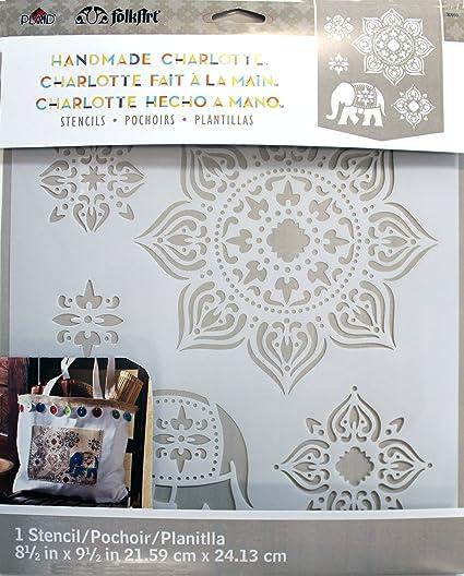 3ec47f470 Amazon.com: FolkArt 30950 Laser Cut Painting Stencil, Tangier