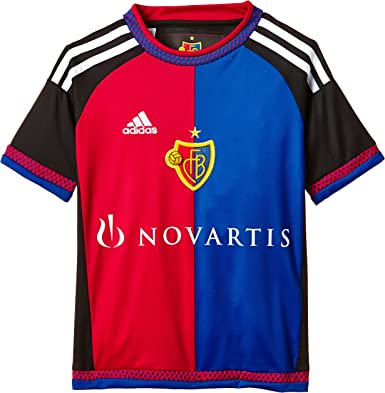 adidas FC Basilea hogar Replica – Camiseta para niño: Amazon.es ...