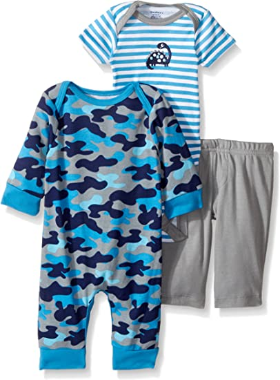 Bodysuit and Pant Set Gerber Baby Boy 3 Piece Coverall Alligator
