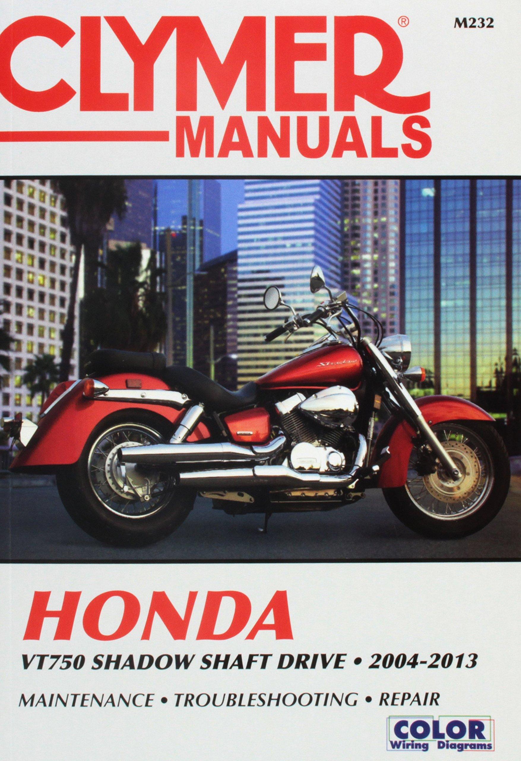 VT750 Shadow Shaft Drive, 2004-2013 (Clymer Powersport): Haynes Publishing:  9781620921500: Amazon.com: Books