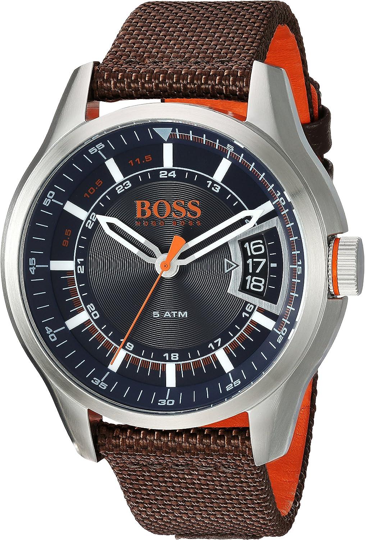 Hugo Boss Orange Reloj Analógico para Hombre de Cuarzo con Correa en Caucho 1550002