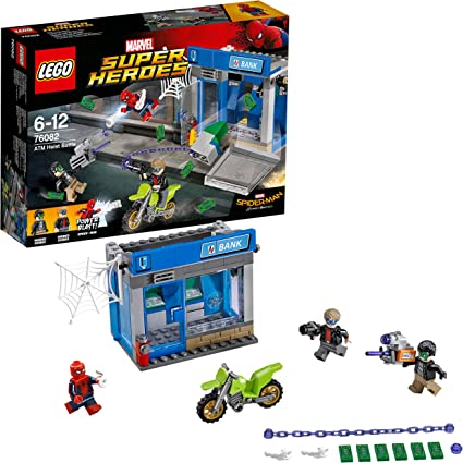 New LEGO Super Heroes ATM Heist Battle 76082 Building Kit Toy