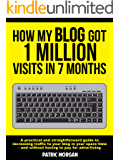 How My Blog Got 1 Million Visits In 7 Months: A practical and straightforward guide to increasing traffic to your blog in your spare time - and without having to pay for advertising (English Edition)