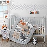 Bedtime Originals Acorn 3-Piece Crib Bedding Set