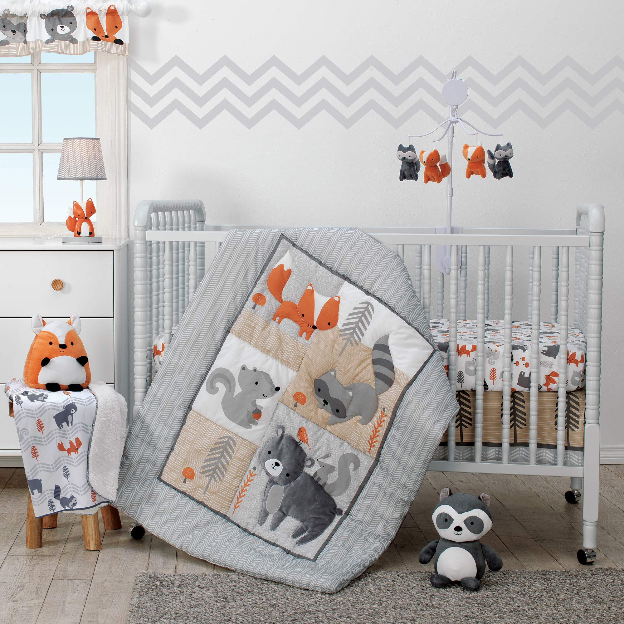 Bedtime Originals Acorn 3-Piece Crib Bedding Set by Bedtime Originals