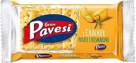 22 opinioni per Gran Pavesi- Cracker, con fiocchi di patata e rosmarino- 250 g