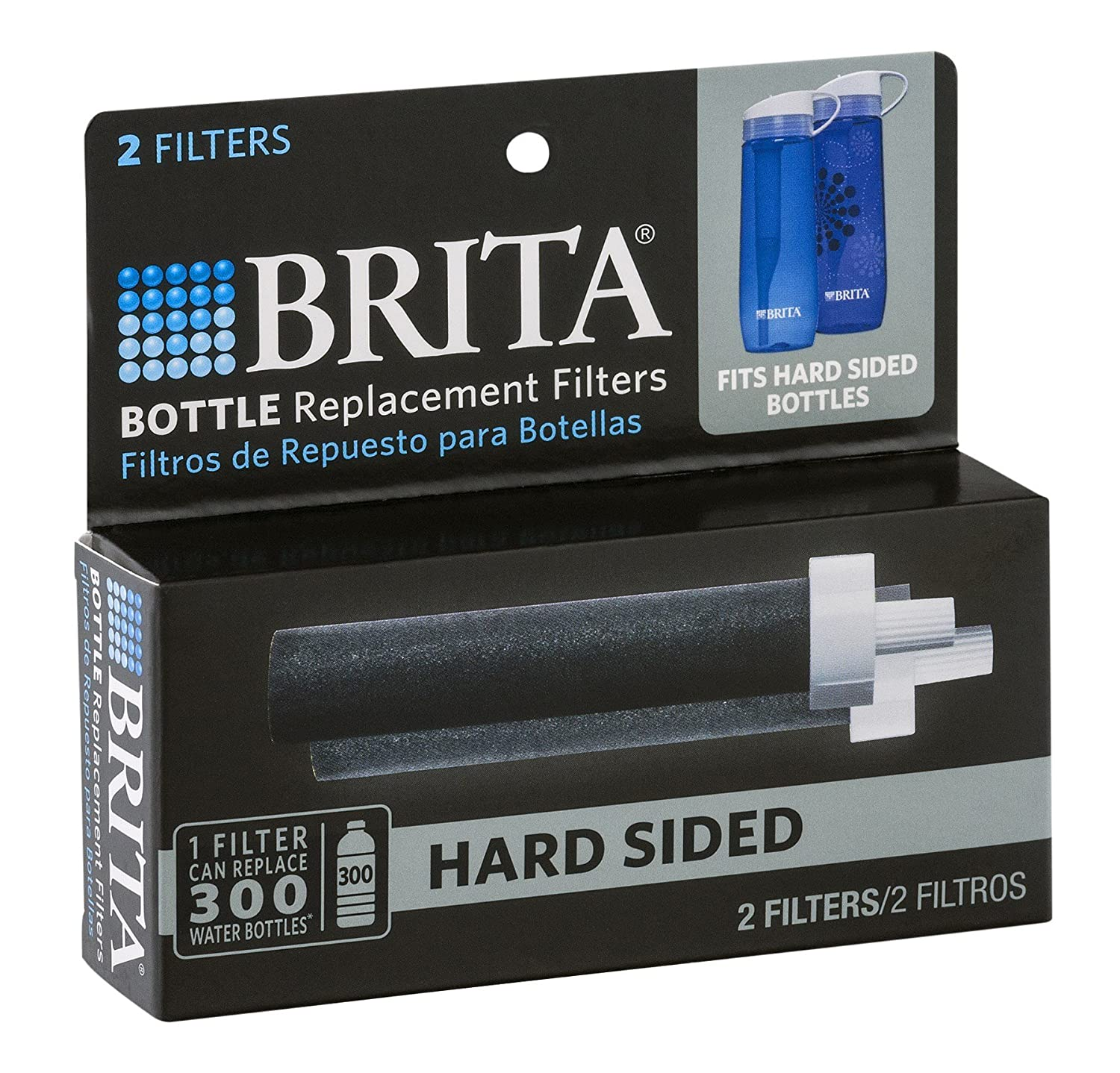 Amazon.com: Brita Bottle Replace Filters - 3 Pack - 6 Total Filters ...
