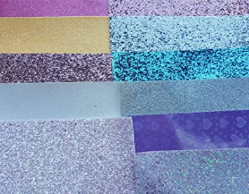 Shimmer Fine Glitter Felt Sheet Hair bow making