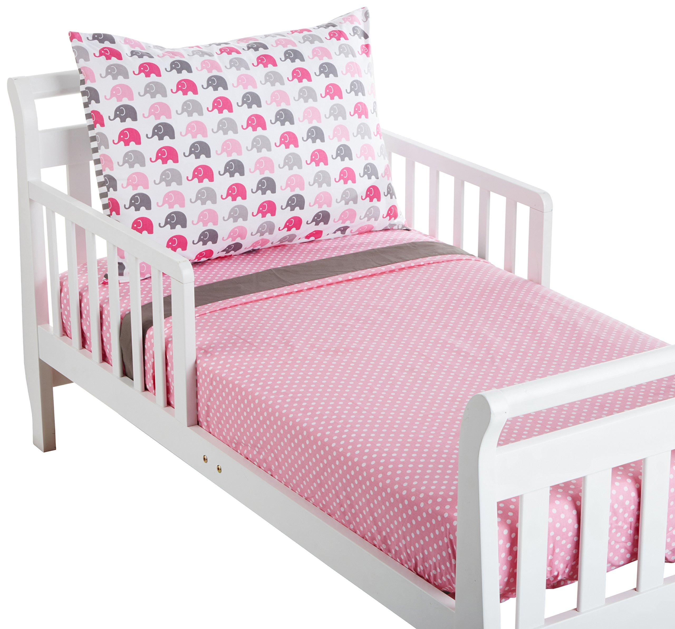 Amazon Com Bacati Stars Muslin 3 Piece Toddler Bedding