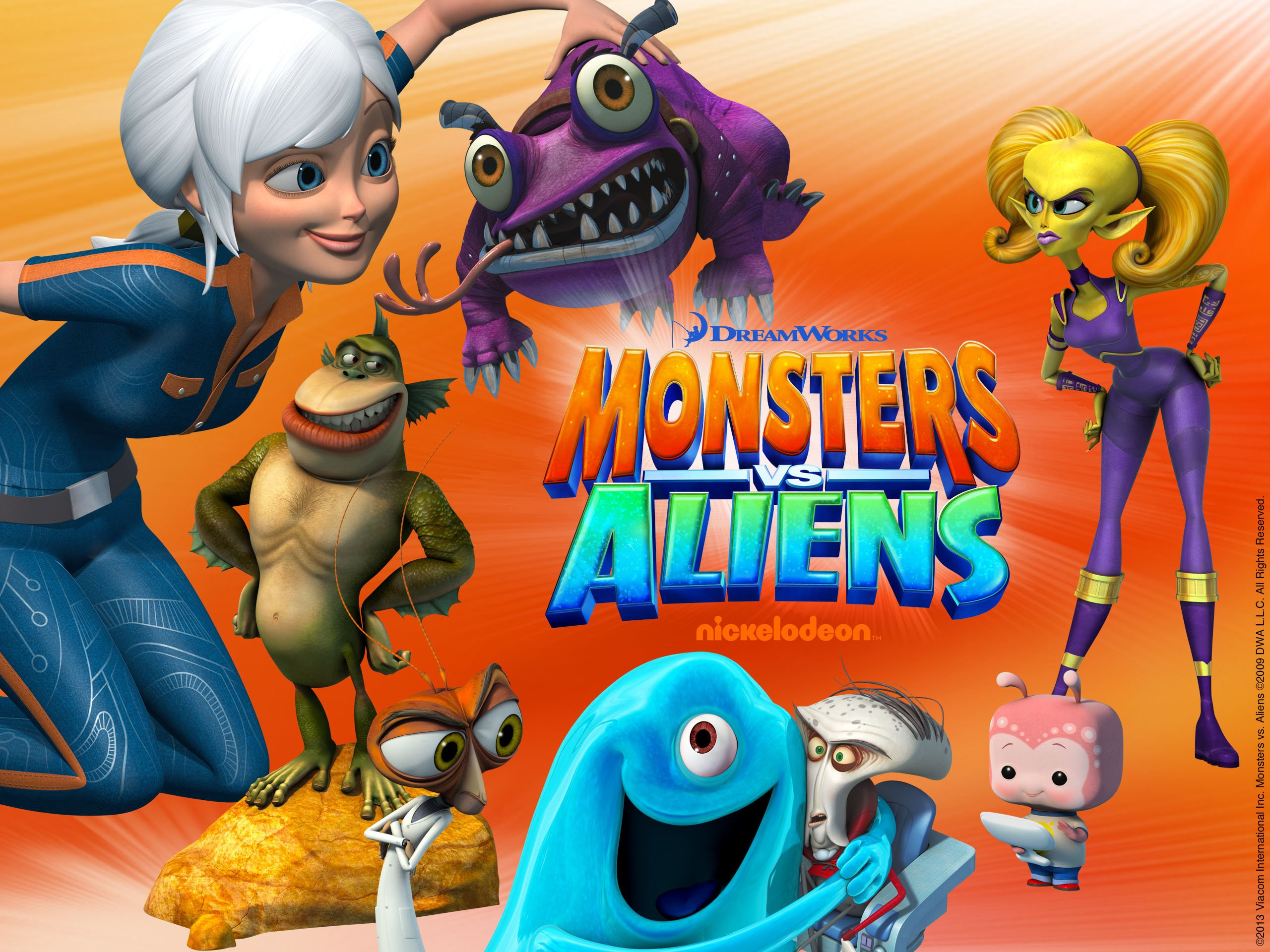 Apologise, but, Monsters vs aliens your business!