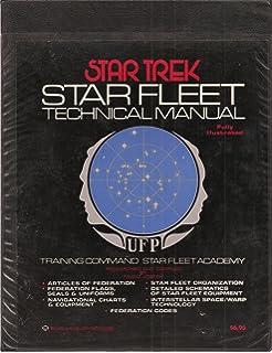 Star trek starfleet technical manual 1975 first edition rare.