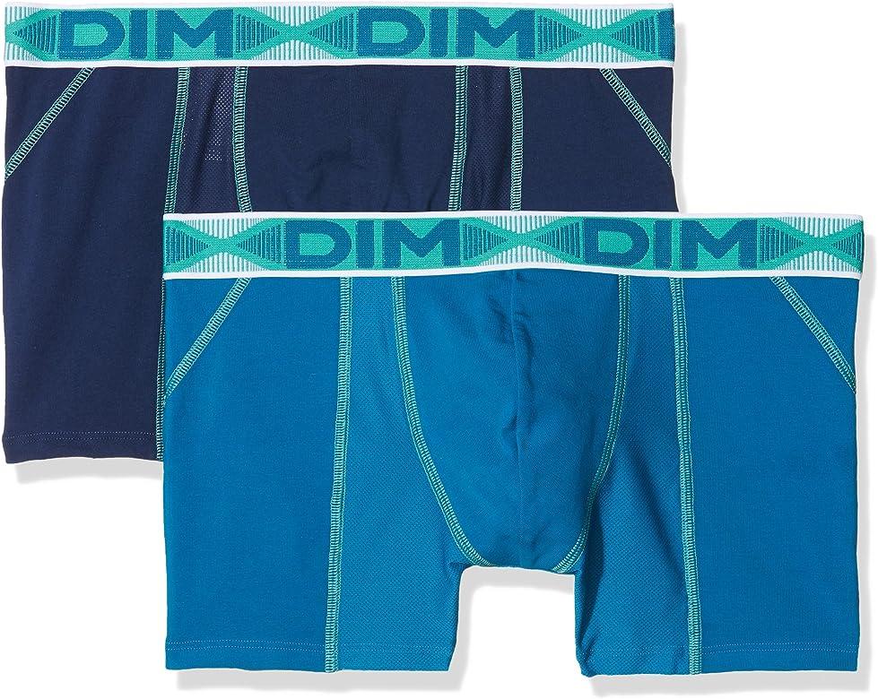Dim AD001N1.5VO40 Bóxer, Azul (Azul 5VO), Small (Tamaño del Fabricante:2) (Pack de 2) para Hombre: Amazon.es: Ropa y accesorios