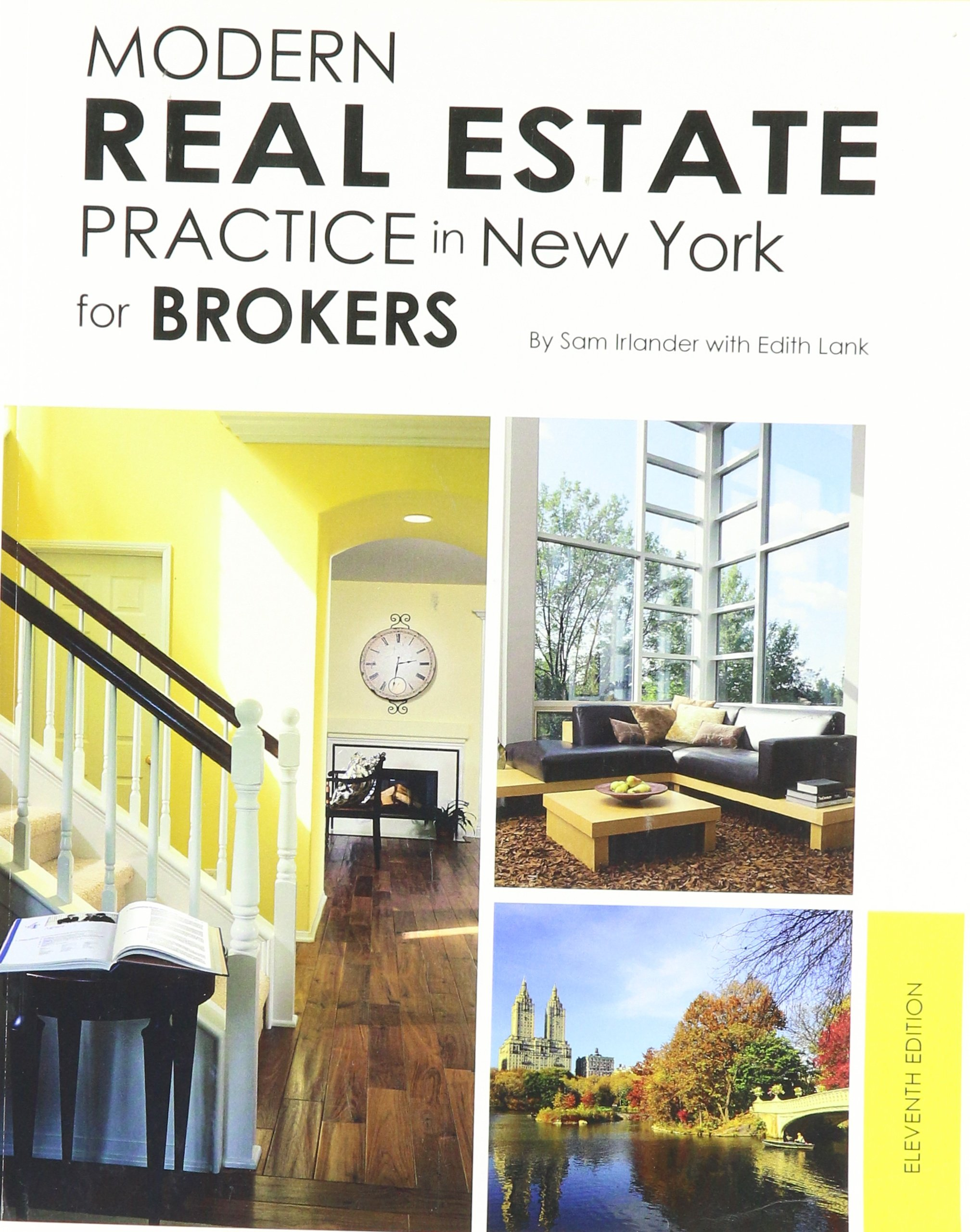 Modern Real Estate Practice in New York for Brokers, 11th Edition:  9781427731401: Amazon.com: Books