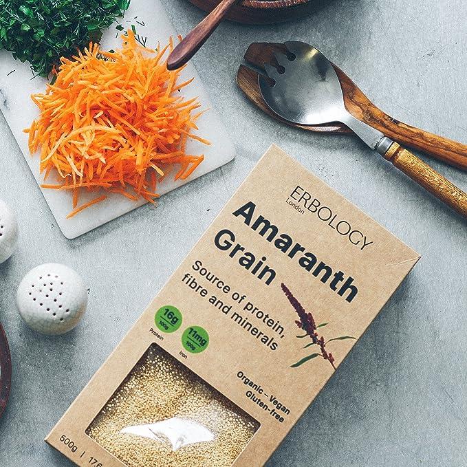 Semillas de Amaranto Bio 500g - Ricas en Proteínas - Sin Gluten