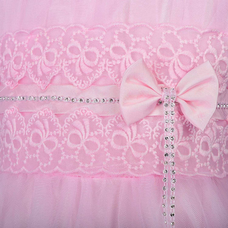 Dressy Daisy Diamante flores flor de las niñas Pageant boda de flor ...