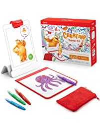Osmo - Creative Starter Kit for iPad - Ages 5-10 - Creative Drawing & Problem Solving/Early Physics - STEM -