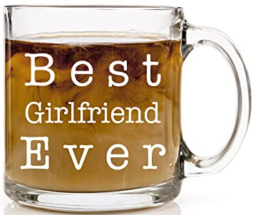 Best Girlfriend Ever Coffee Mug Perfect Birthday Or Anniversary Gift For Her