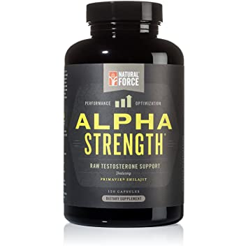 Amazon Com All Natural Testosterone Booster Alpha Strength