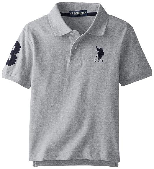 Boys White T Shirts Horse School Shirt US Polo Assn NEW  Size 18