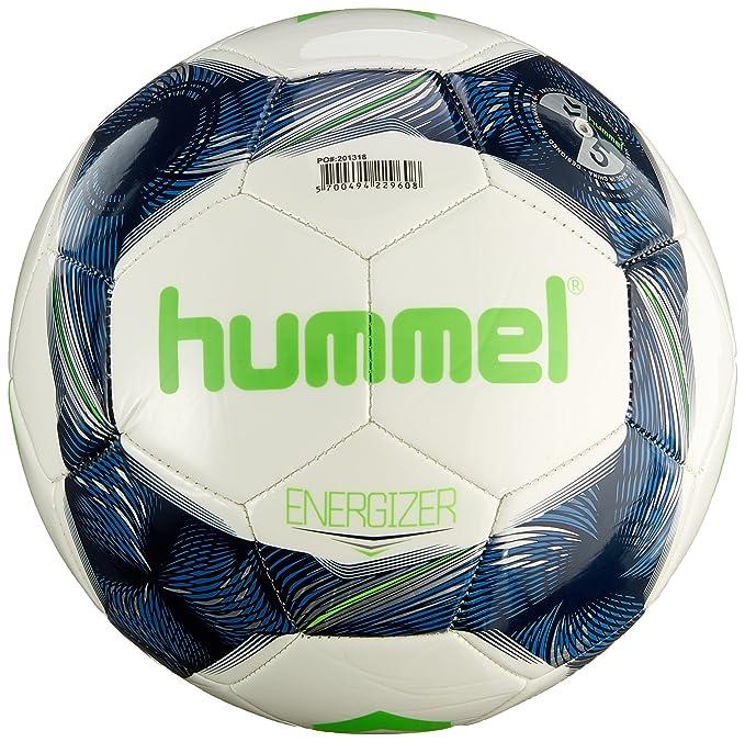 2 opinioni per Hummel Energizer Fb, Ball Unisex – Adulto, Bianco/Indigo Vintage/Verde, 5