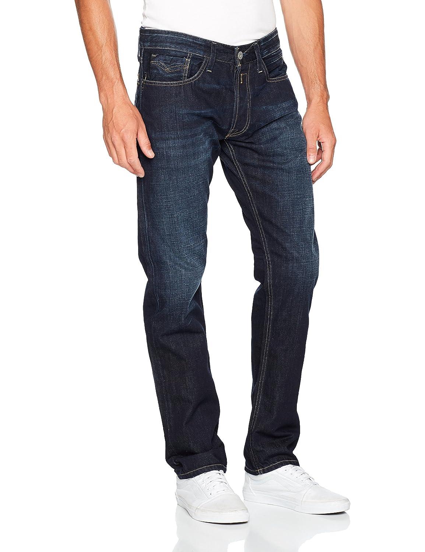 Replay Mens Deep Blue Comfort Fit Newbill Jeans