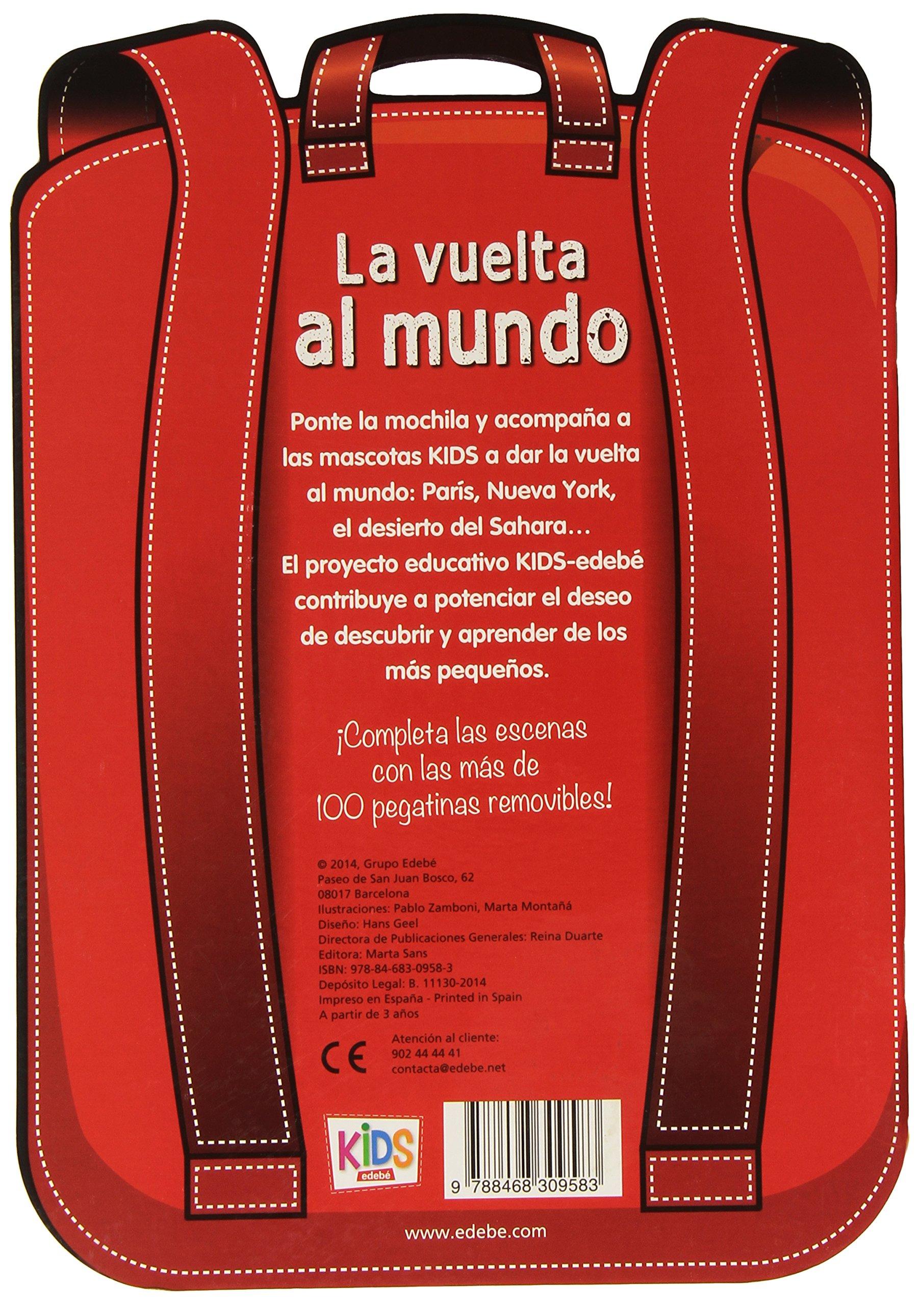 VUELTA AL MUNDO, LA VARIAS EDEBE: Obra Colectiva Edebé: 9788468309583: Amazon.com: Books