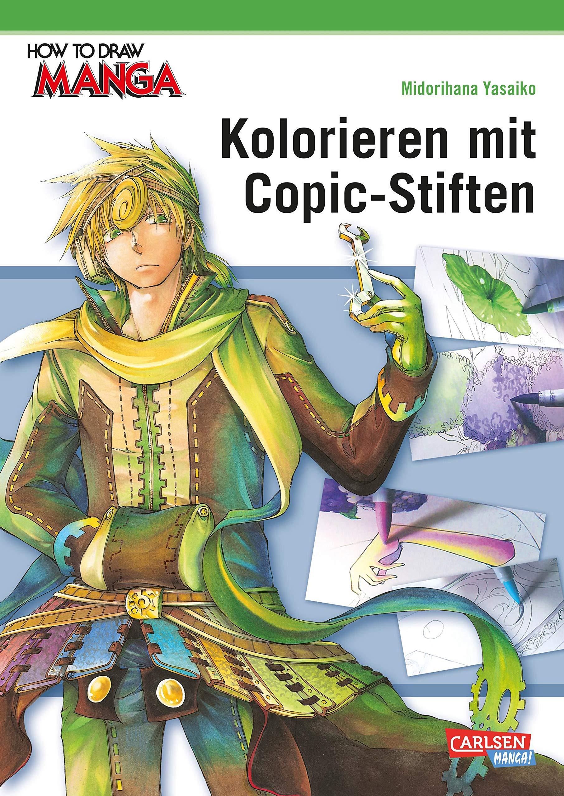 How To Draw Manga: Kolorieren mit Copic-Stiften Taschenbuch – 20. März 2018 Midorihana Yasaiko Hiro Yamada Carlsen 3551739838