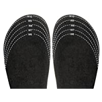 """Sloggers Cut-To-Fit""""Half, Sizer"""" Fit Adjusting Insole-Style 330BK"""