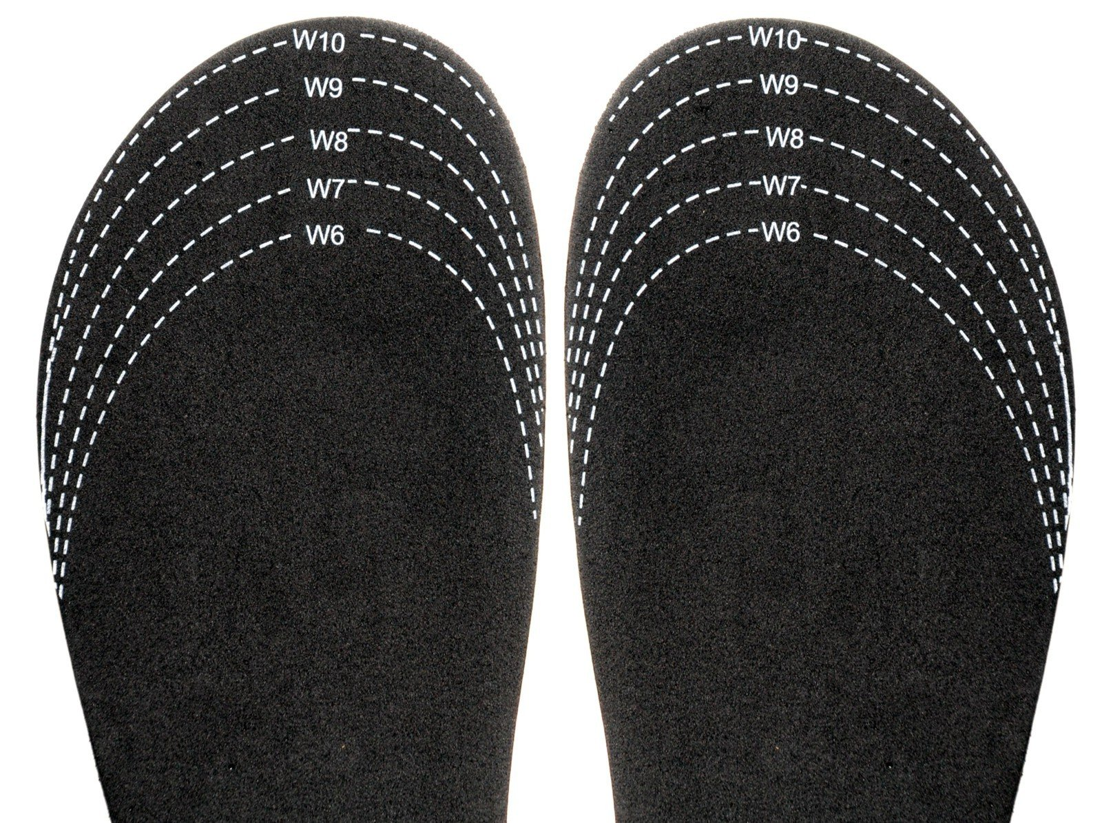 Sloggers cut-to-fit ''Half-Sizer'' fit adjusting Insole - Style 330BK