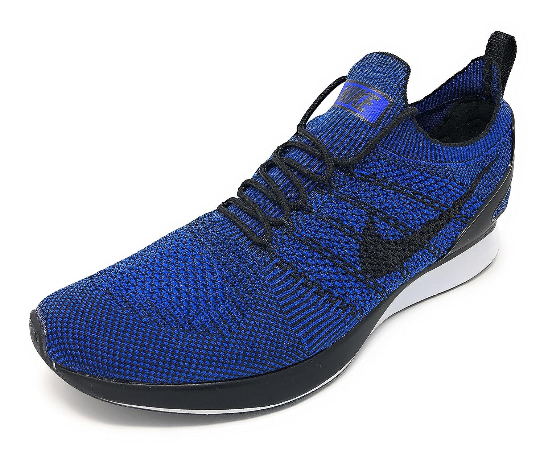 NIKE Women's Free RN Flyknit 2017 Running Shoe B0763RQFJT 11.5 D(M) US|Black/Racer Blue-black-white