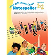 Alfred's Kid's Ukulele Course Notespeller 1 & 2: Music Reading Activities That Make Learning Even Easier!