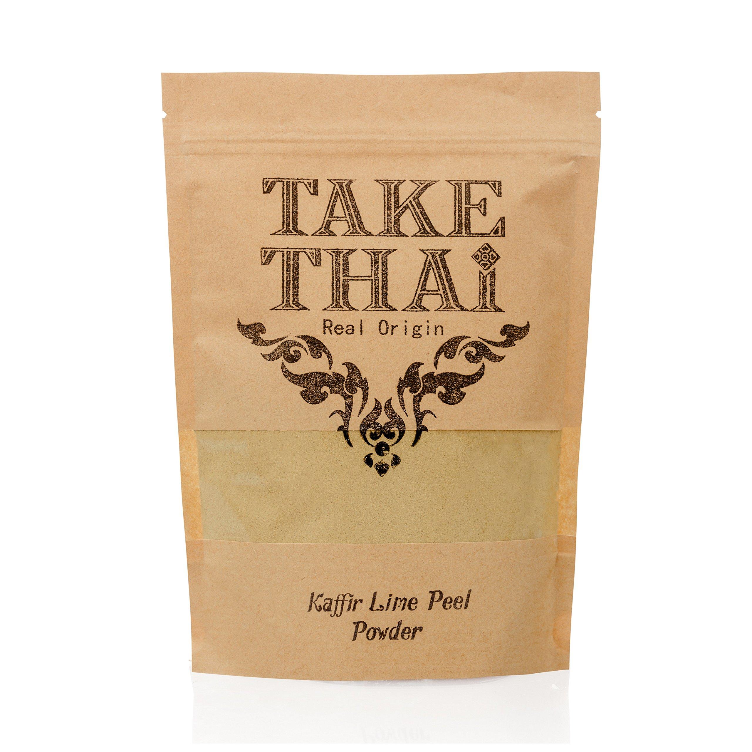Take Thai Real Origin : Kaffir Lime Powder.