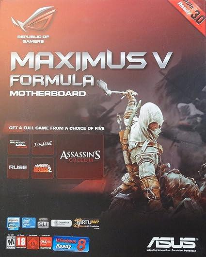 ASUS Maximus V Formula/Assassins C3 Intel LAN Driver for Windows 10
