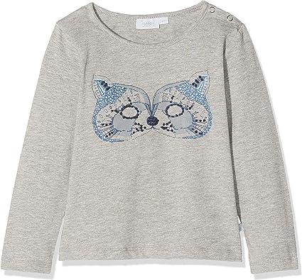 Noa Noa Miniature Boy Stitch Camisa Manga Larga, Gris (Grey ...