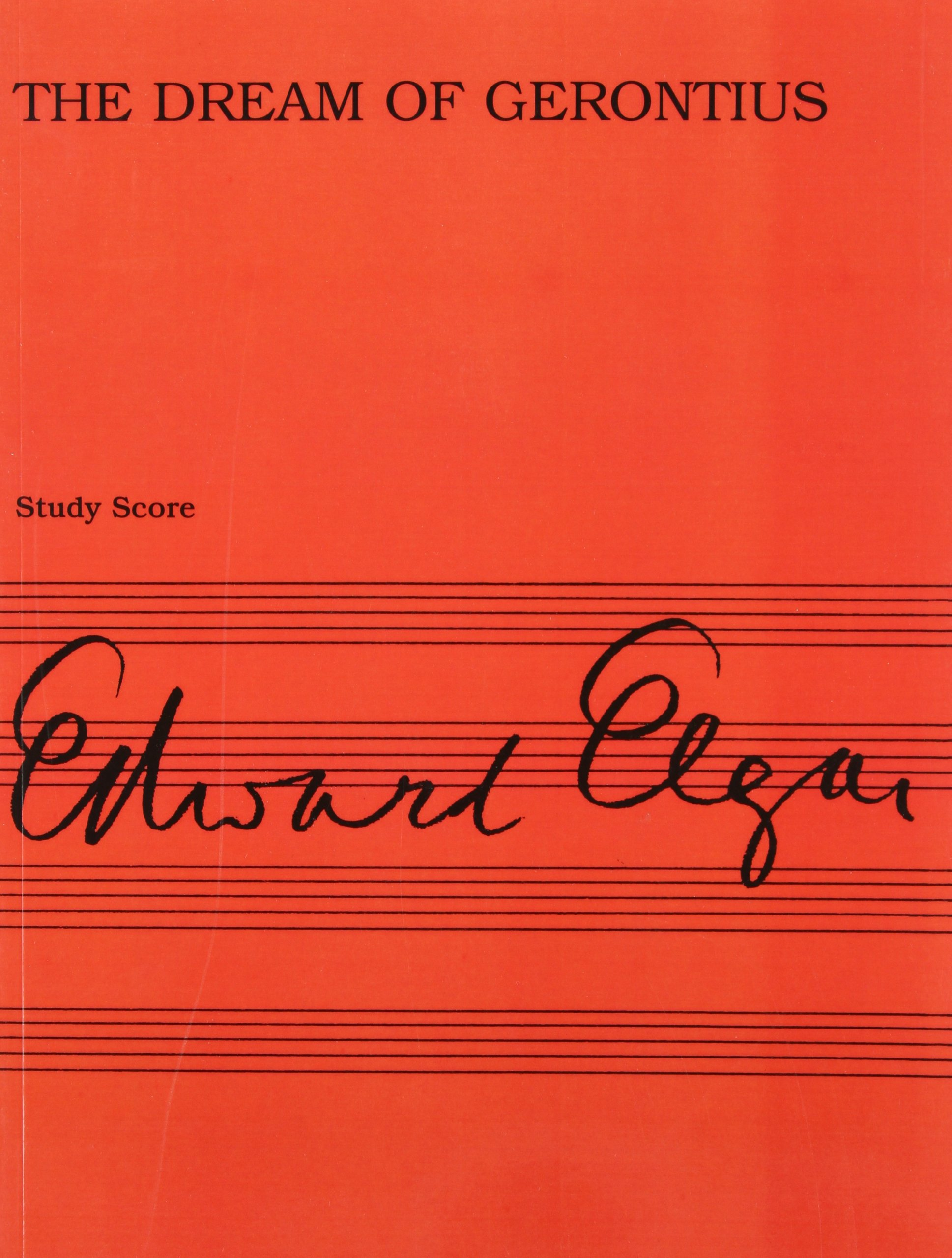 Download Edward Elgar: The Dream Of Gerontius Op.38 (Study Score) pdf