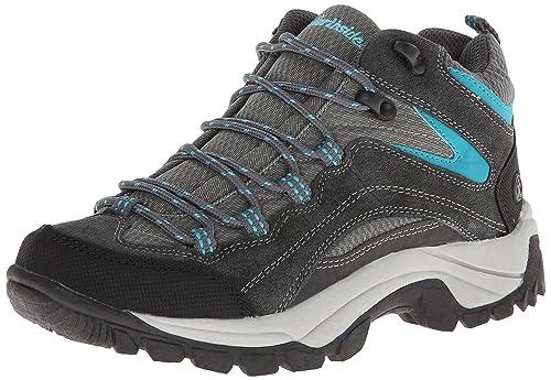 Northside Women's Pioneer Trail Running Shoe,Dark Gray/Dark Turquoise,6 M US