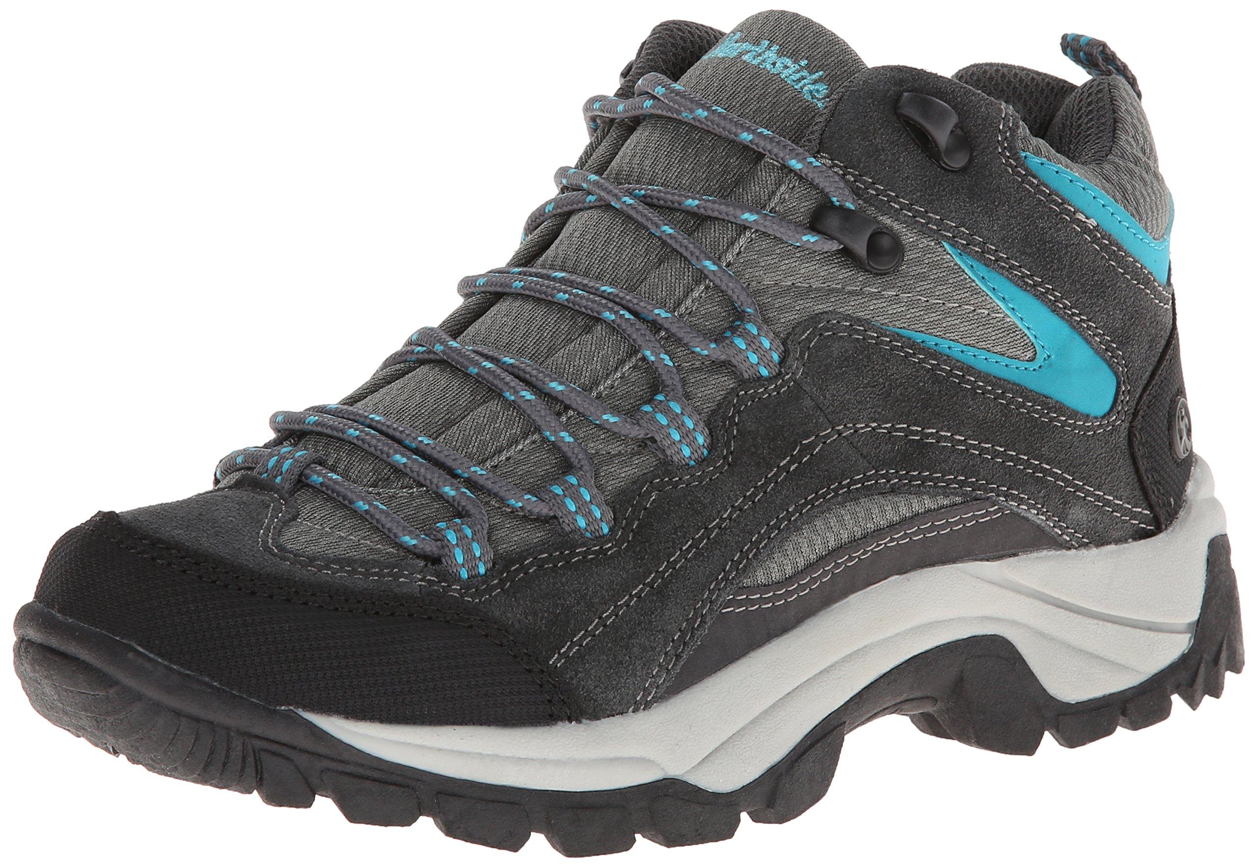 Northside Women's Pioneer Trail Running Shoe,Dark Gray/Dark Turquoise,7.5 M US