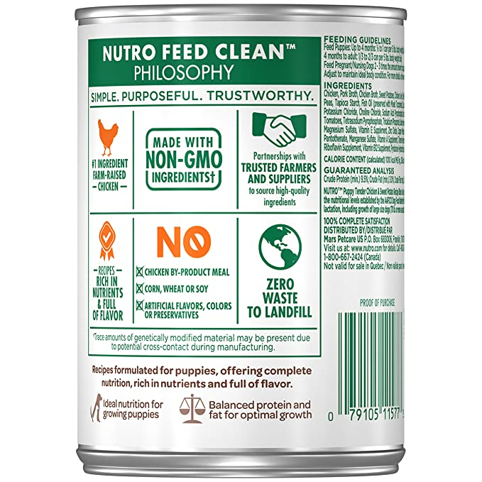Nutro Puppy Wet Dog Food (Packaging May Vary )