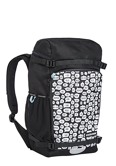 3bbd892a693 Chiemsee Bags Collection School Backpack, 48 cm, Multicolour (1090 White/ Black): Amazon.co.uk: Luggage