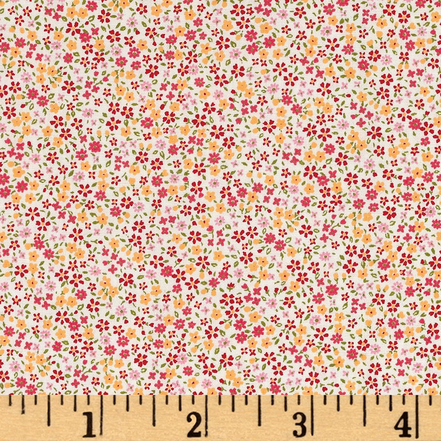 Kaufman bouffants amp broken hearts girls red fabric by the yard - Amazon Com Kaufman Sevenberry Petite Garden Tiny Flower Fuchsia Fabric By The Yard