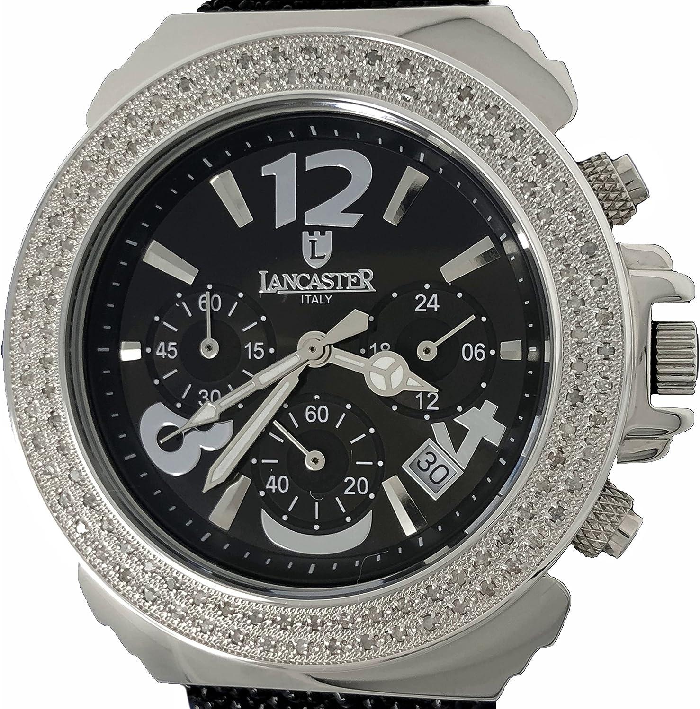 Lancaster 0422GNRNR - Reloj de Señora Cuarzo Piel Negro: Amazon.es: Relojes