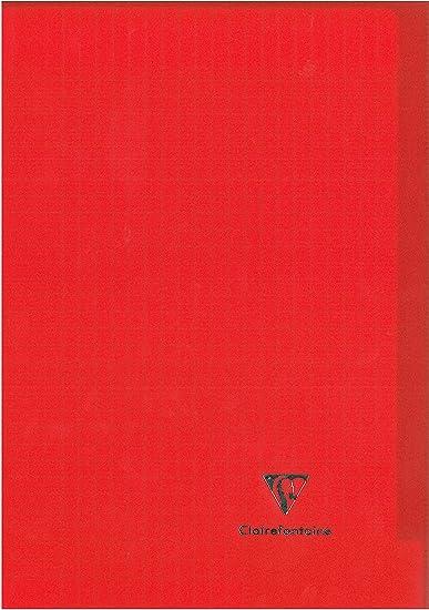 Conqu/érant 92026 Cahier Classique Piq/ûre Usage Scolaire Couverture Vernie Carte Couch/ée Papier Vert