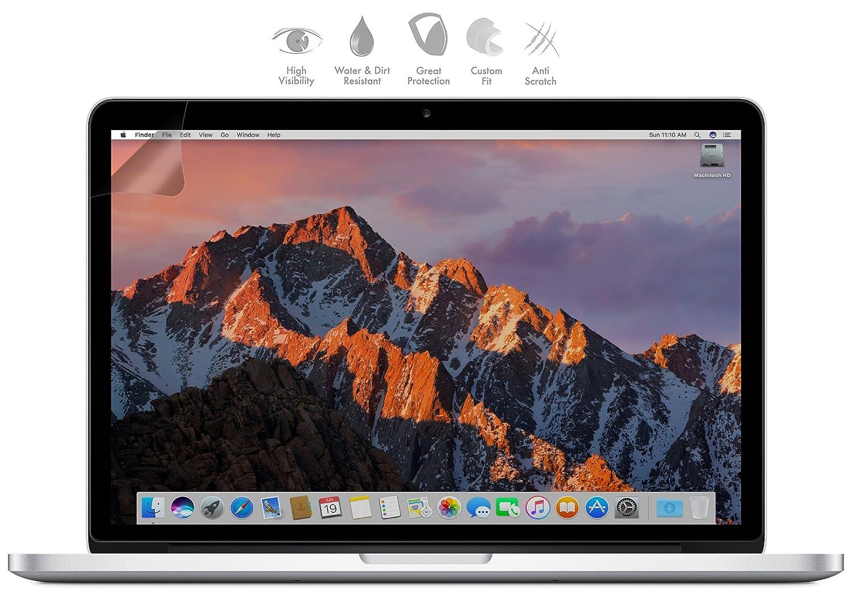 Matt Bildschirm Schutzfolie Displayschutz Anti Fingerabdruck Entspiegelt MyGadget Display Schutz Folie 2012-2016 f/ür Apple MacBook Pro Retina 13